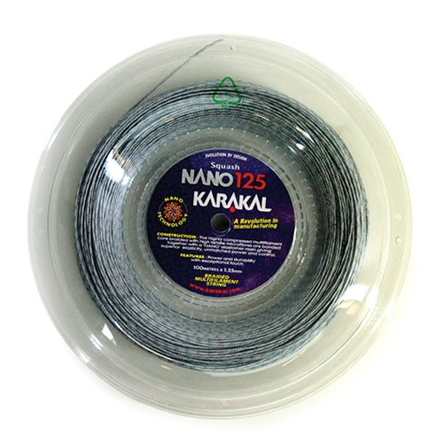 Karakal Nano 125 Squash Χορδές 100M Coil