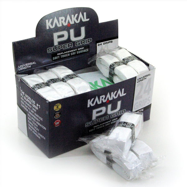 Karakal PU Super Γκριπ,Λευκό