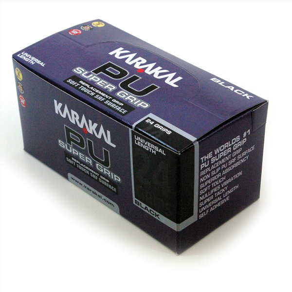 Karakal PU Super γκριπ,Μαύρο