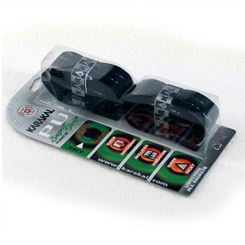 Karakal PU Super γκριπ μαύρο - συσκευασία των 2