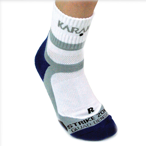 Karakal X4-Technical κάλτσα αστραγάλου,Λευκό