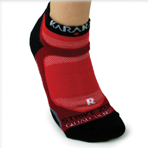 Karakal X4-Technical κάλτσα προπόνησης - Κόκκινο