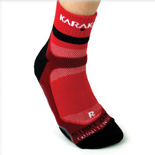 Karakal X4-Technical κάλτσα αστραγάλου,Κόκκινη