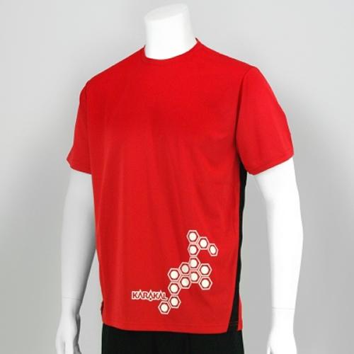 Karakal Pro μπλουζάκι Κόκκινο