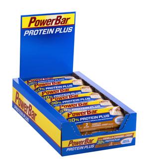 Protein Plus 30 % βανίλια,καραμέλα -Κουτί-