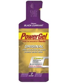 PowerGel μαύρη σταφίδα