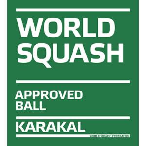 Karakal μονή κίτρινη Squash μπάλες
