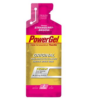 PowerGel Φράουλα,Μπανάνα 41gr