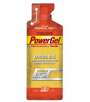 PowerGel τροπικά Φρούτα 41gr