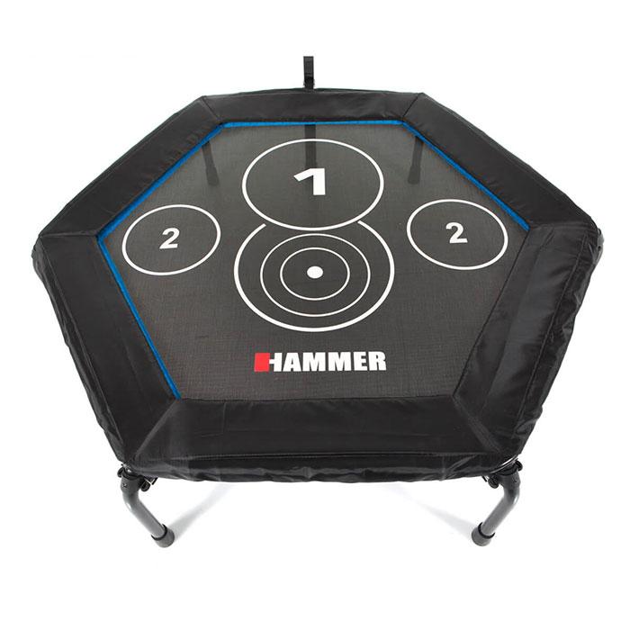 66426 hammer fitness trampolin cross jump 07