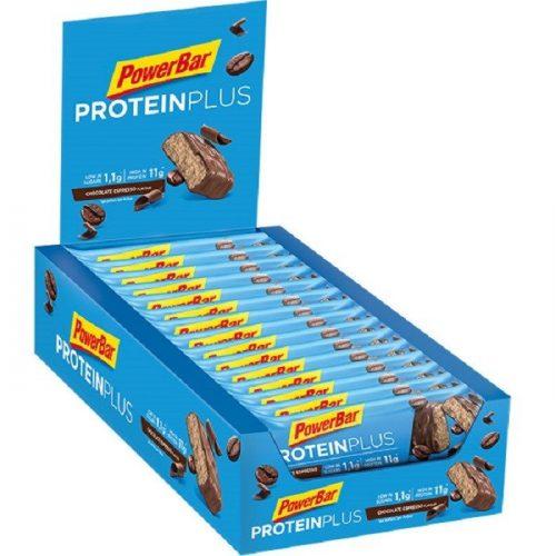PowerBar Protein Plus Low-Sugar Chocolate Espresso 35g.