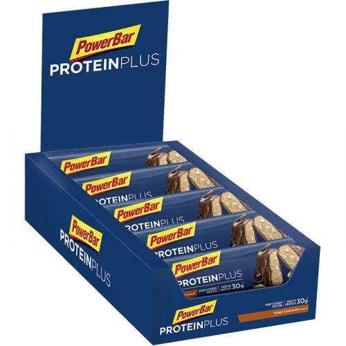 PowerBar 33 Protein Plus Secondary Packshot Peanut Chocolate 90g 700