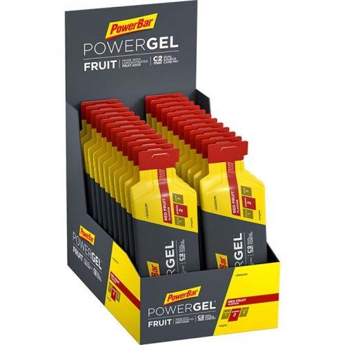 PowerBar  PowerGel Fruit  Red Fruit  Tray  700